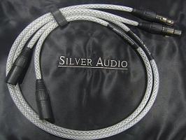 """Silver Audio """"Appassionata"""" XLR 1,0 m"""