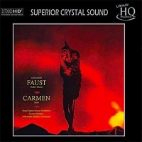 "CD Gounot & Bizet ""Carmen Faust ballet music & Carmen Suite"""