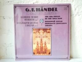 """Пластинка Георг Фридирих Гендель """"Шесть концертов для органа с оркестром"""""""