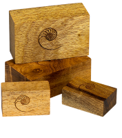 Cardas Myrtle Wood Blocks Small Set