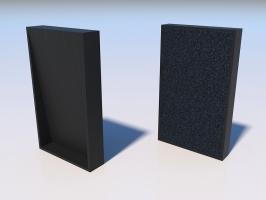 Light Acoustic 1206 ABS black