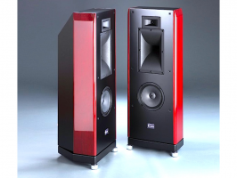 Casta Acoustics Reference B Prima red cherry