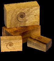 Cardas Myrtle Wood Blocks Small Set